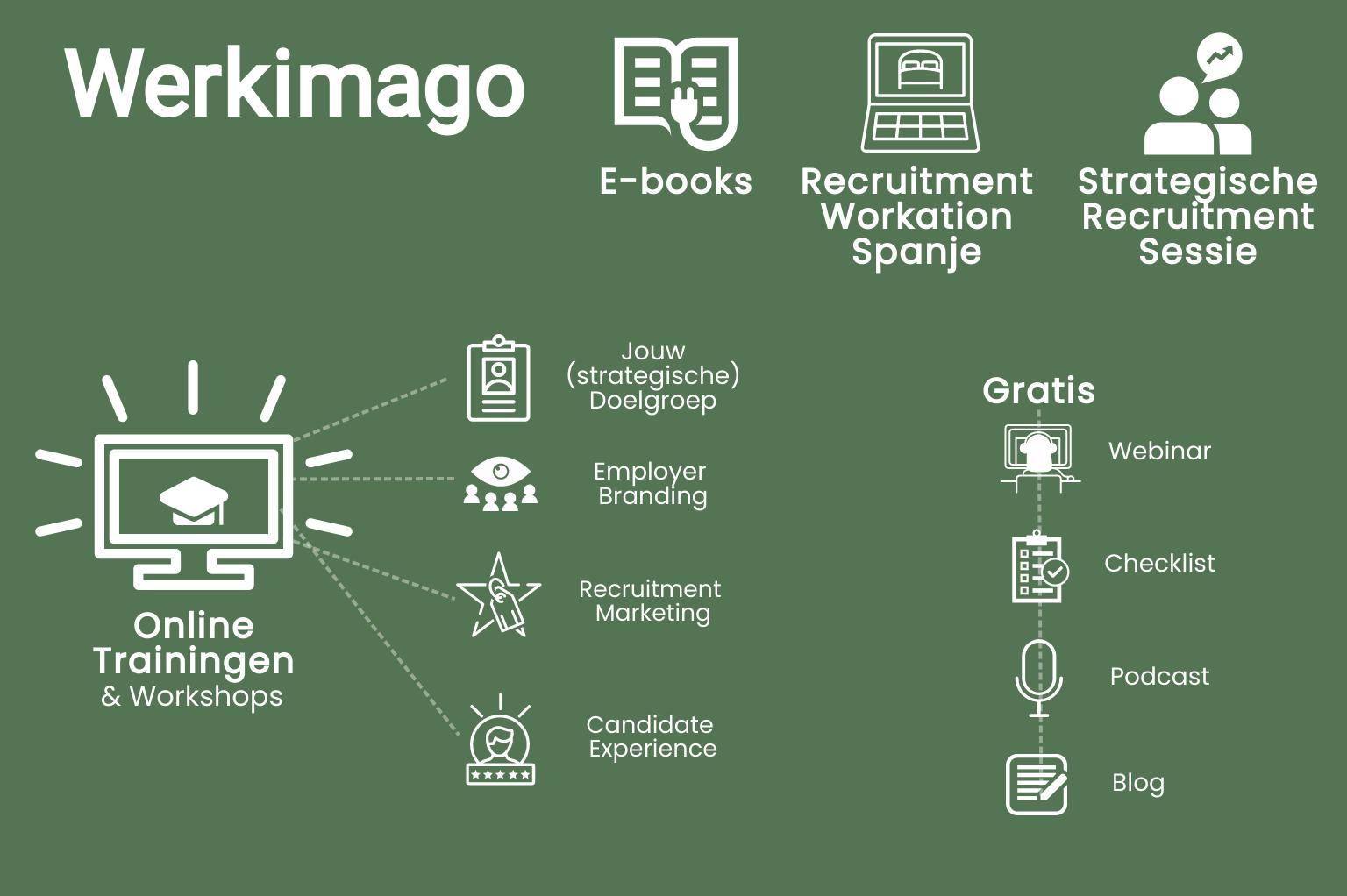 Infographic werkimago 2020